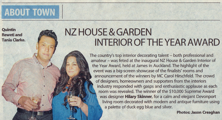 Sunday Star Times / About Town